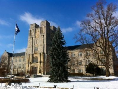 Burrus Hall at Virginia Tech